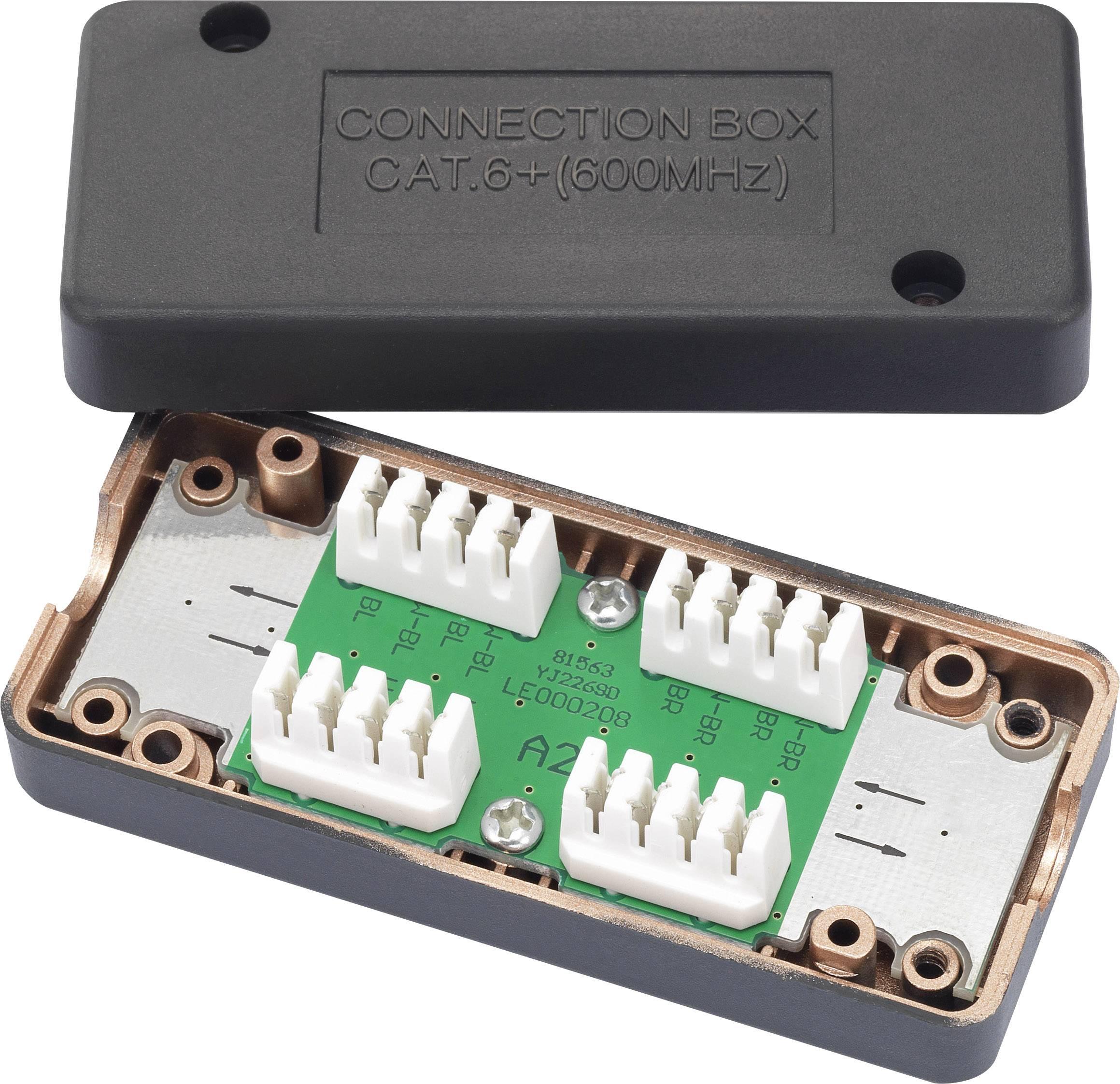 Connection Box vhodný pre: CAT 6A Renkforce RF-4212186