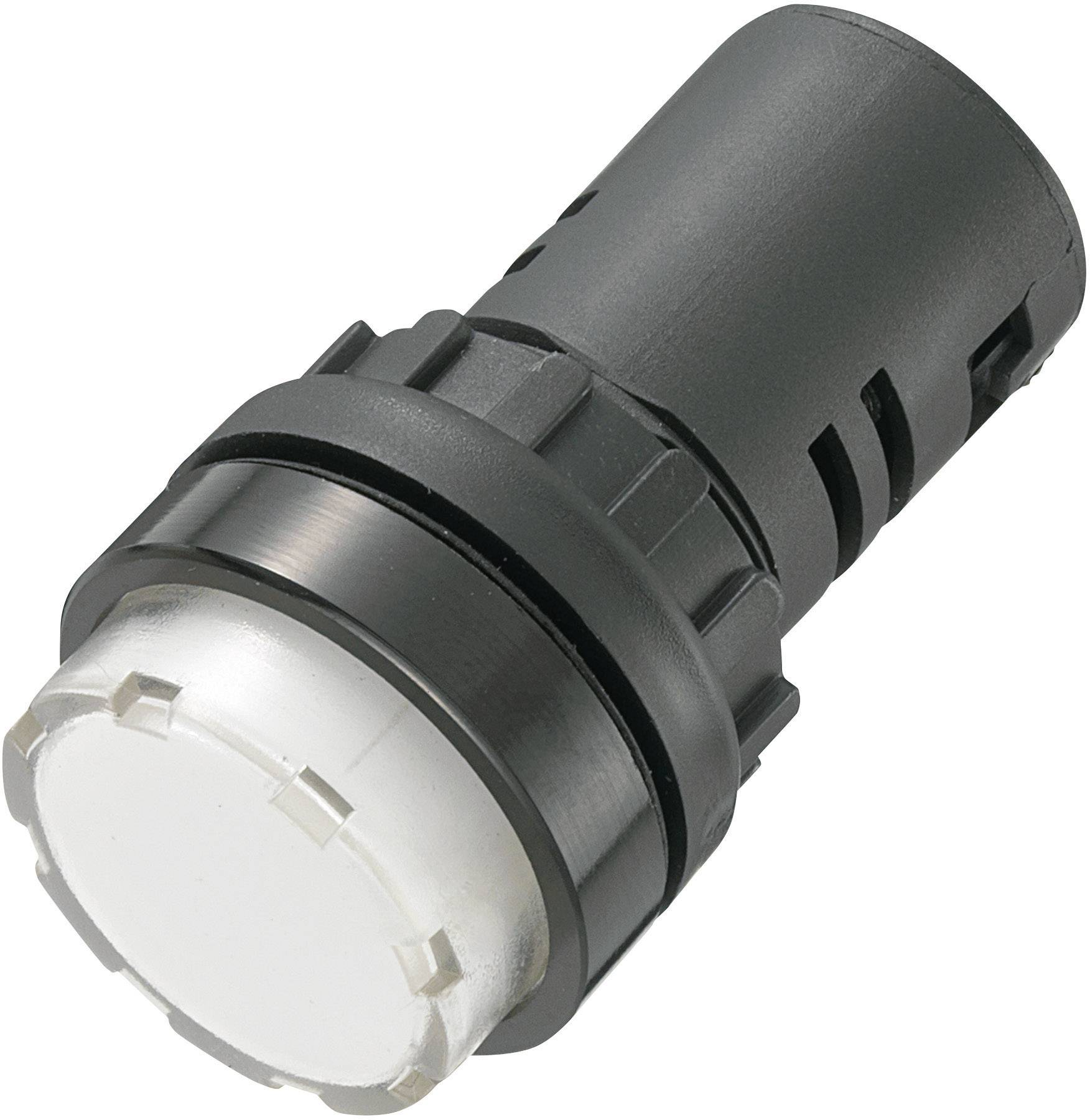 LED signálka AD16-22ES/230V/W, 230 V/AC, bílá