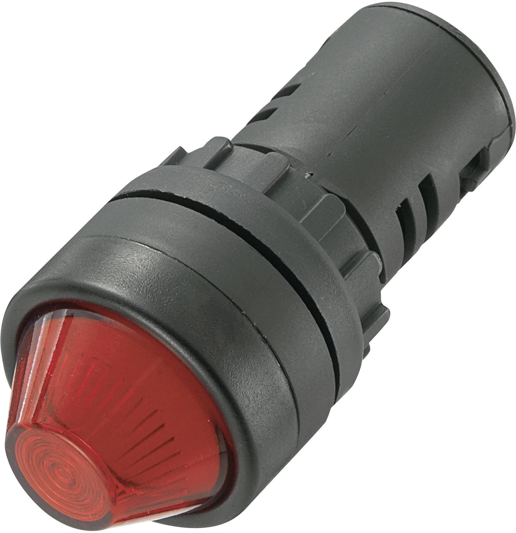 LED signálka AD16-22HS/230V/R, 230 V/AC, červená