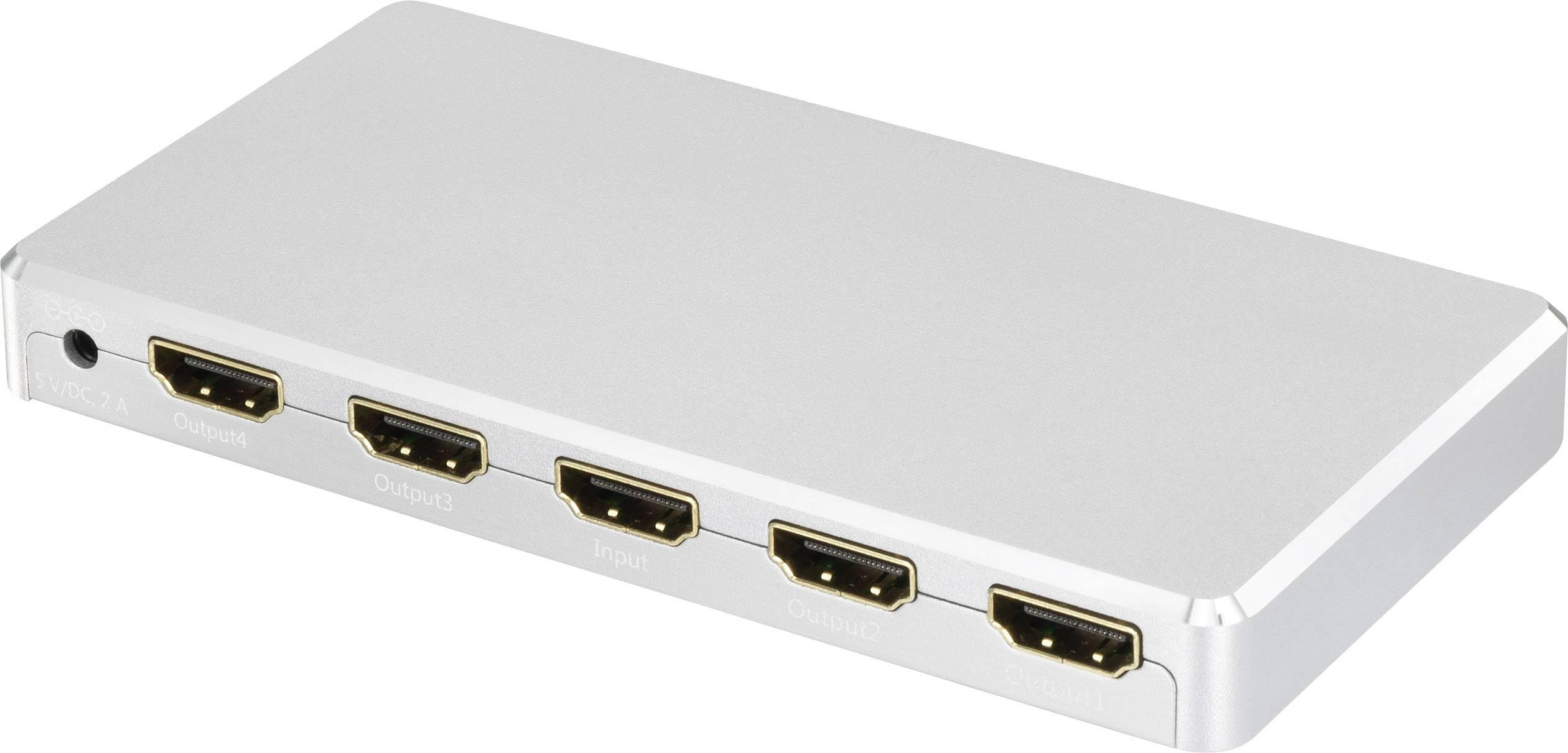A/V, HDMI zosilňovače a prepínače