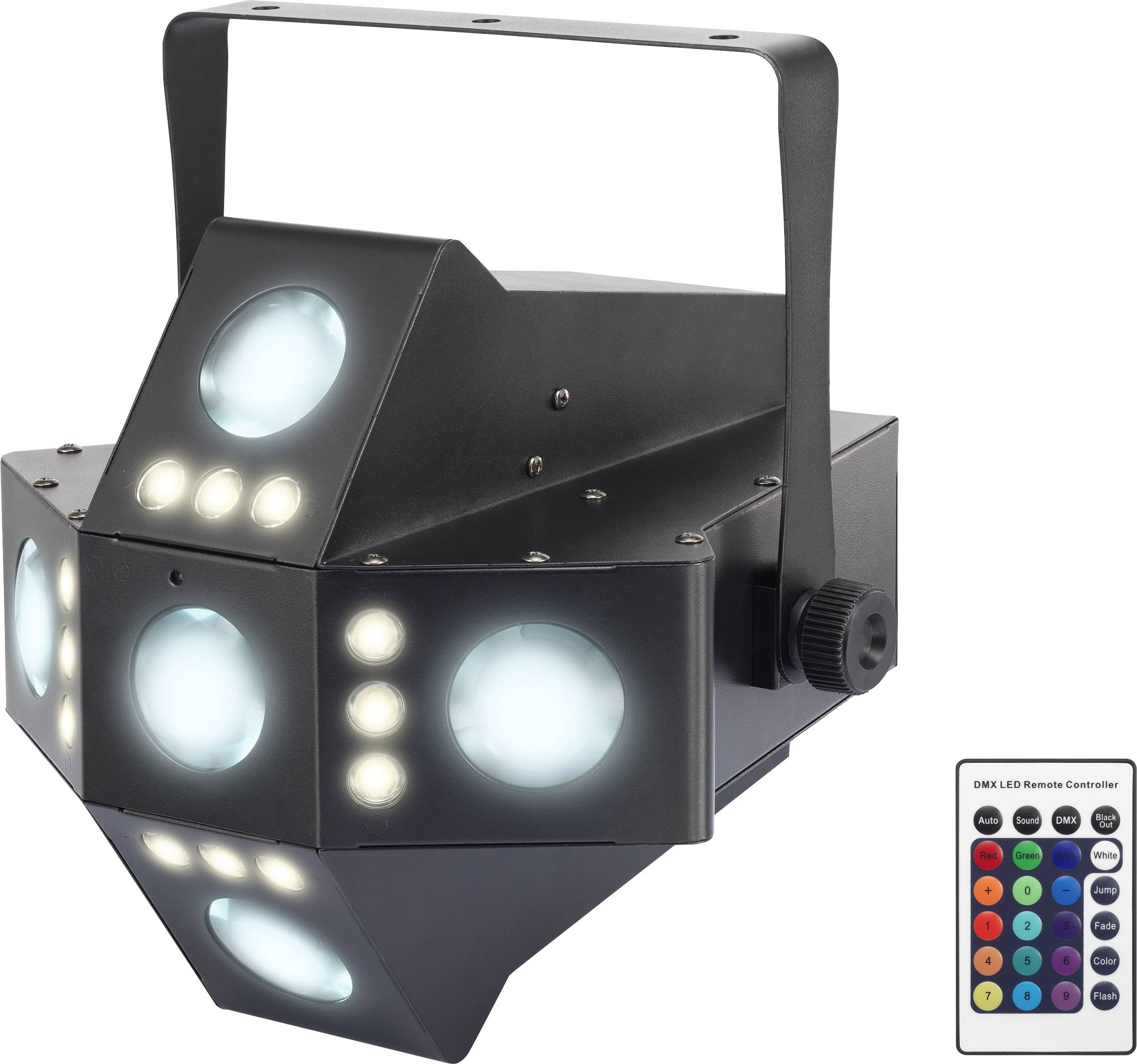 LED efektové reflektory RENKFORCE GM215, 20x 3 W