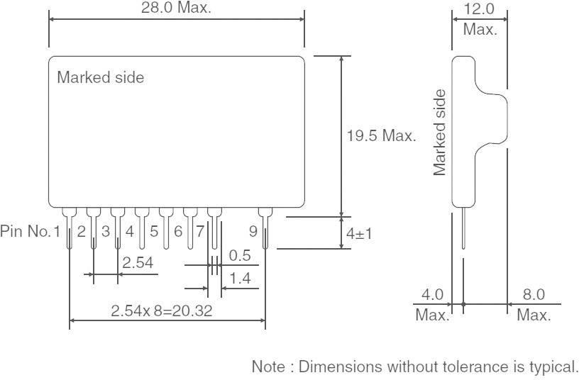 DC/DC měnič Serie BP ROHM Semiconductor BP5221A, 5 V/DC