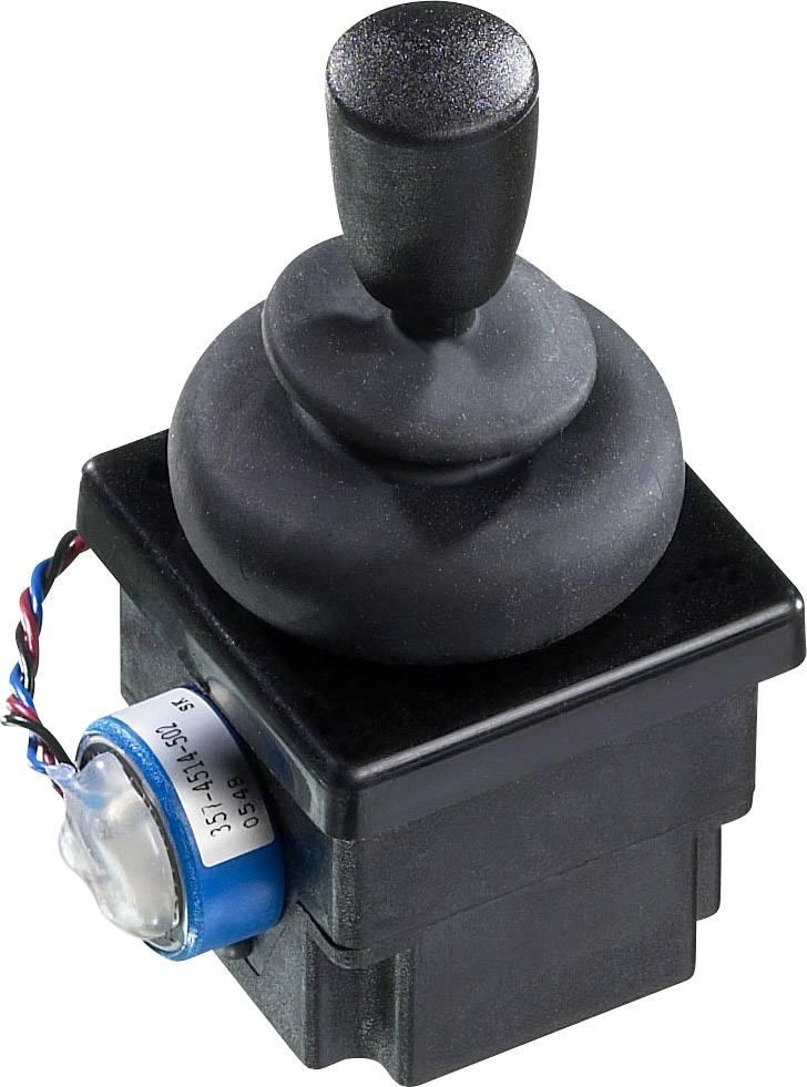 Joystick rovná páka APEM 4R28-2H1E-55-360, kabel bez konektorů, 500 V/DC, IP65, 1 ks