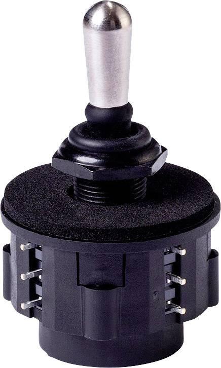 Joystick - rovná páka APEM NZAA0135, pájené připojení, 125 V/AC, IP67, 1 ks