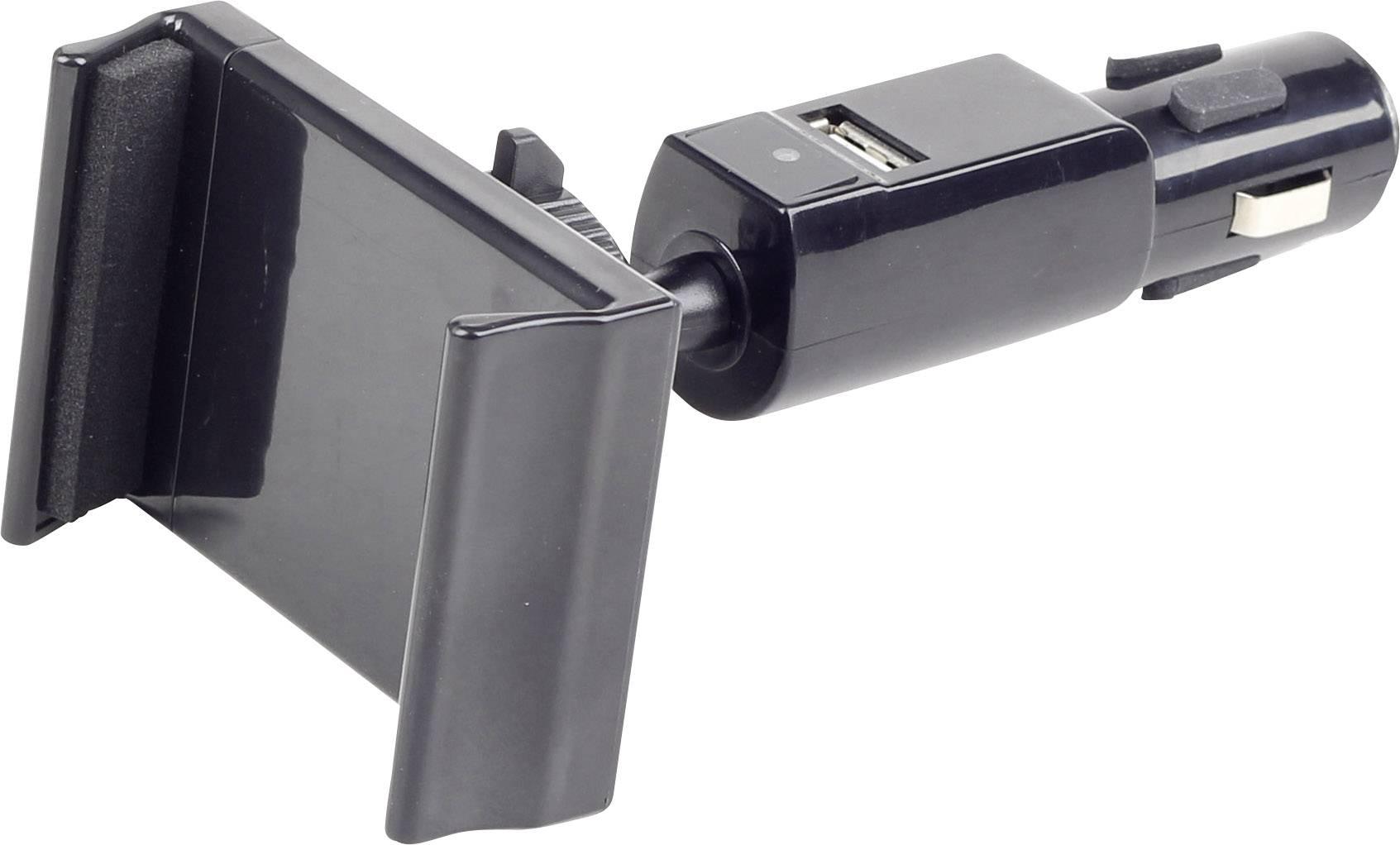 Univerzální nabíječka a držák mobilu do auta s USB, GEMBIRD KFZ SMARTPHONE
