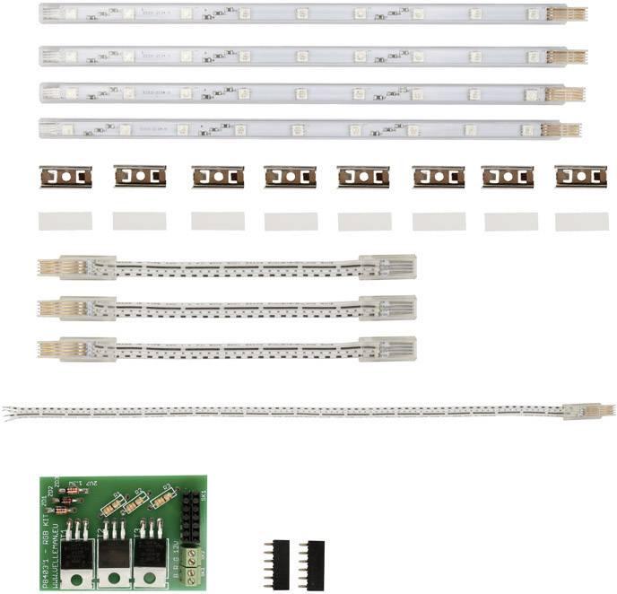 LED osvětlení LED osvětlení RGB K8403 Velleman K8403 Vhodné pro 3D tiskárnu velleman Vertex