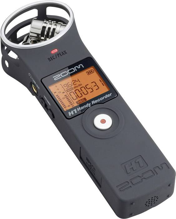 Přenosný audio rekordér Zoom H1 Matt Black
