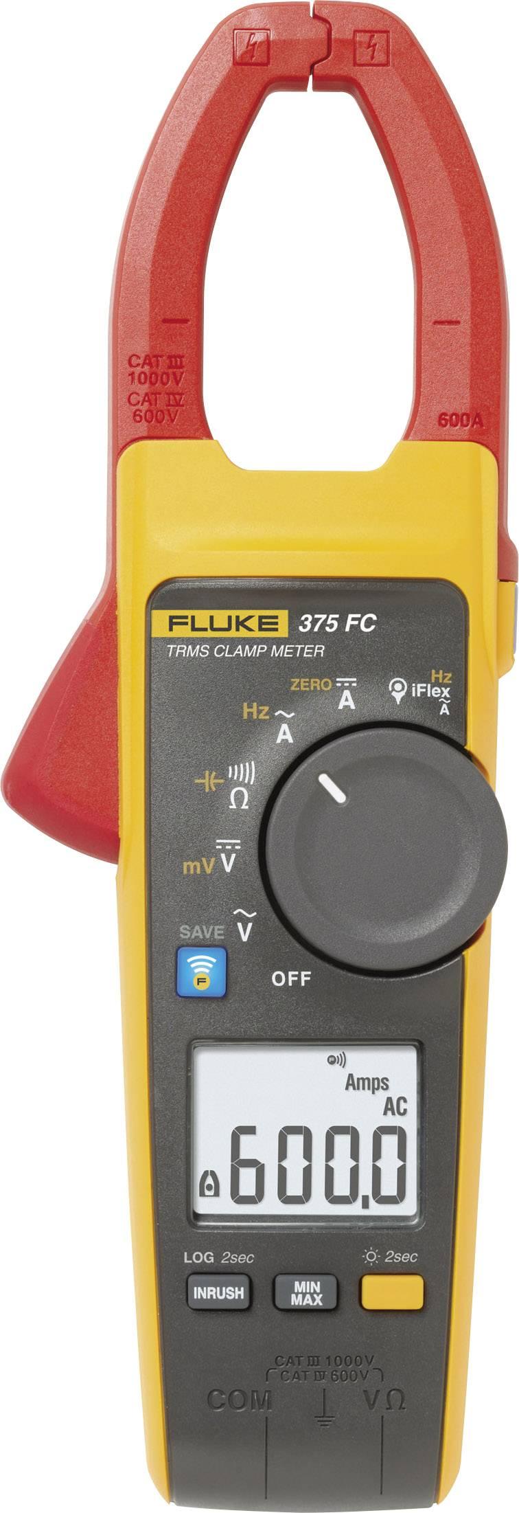 Klešťový digitální multimetr Fluke 375 FC