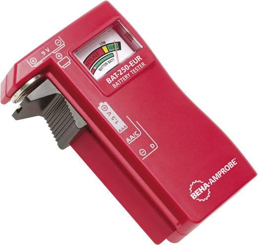 Tester baterií zkoušečka baterií a akumulátorů Beha Amprobe BAT-250-EUR