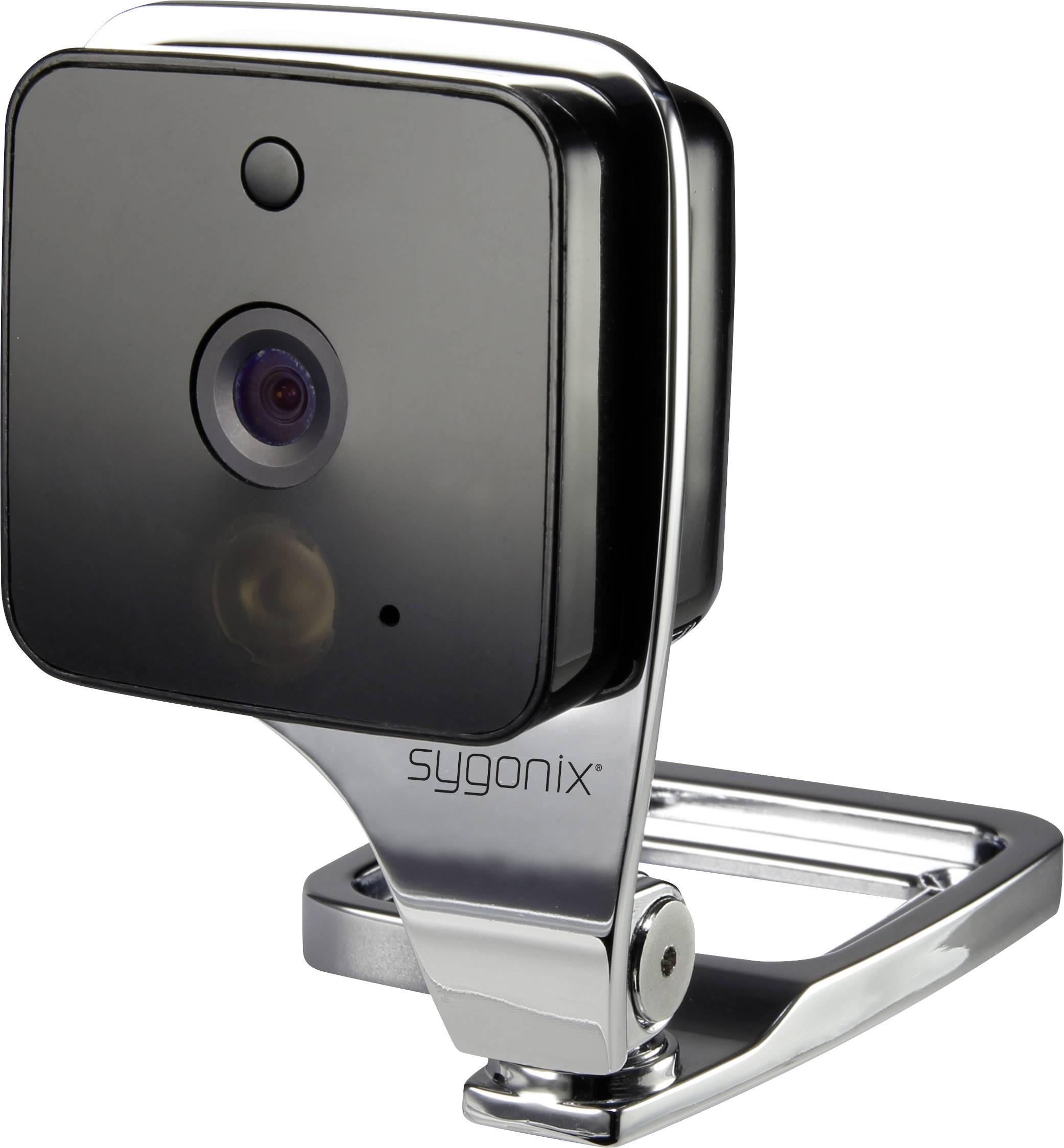 Inteligentná bezpečnostná kamera Sygonix WF-90 WF-90, s Wi-Fi, 1280 x 720 pix