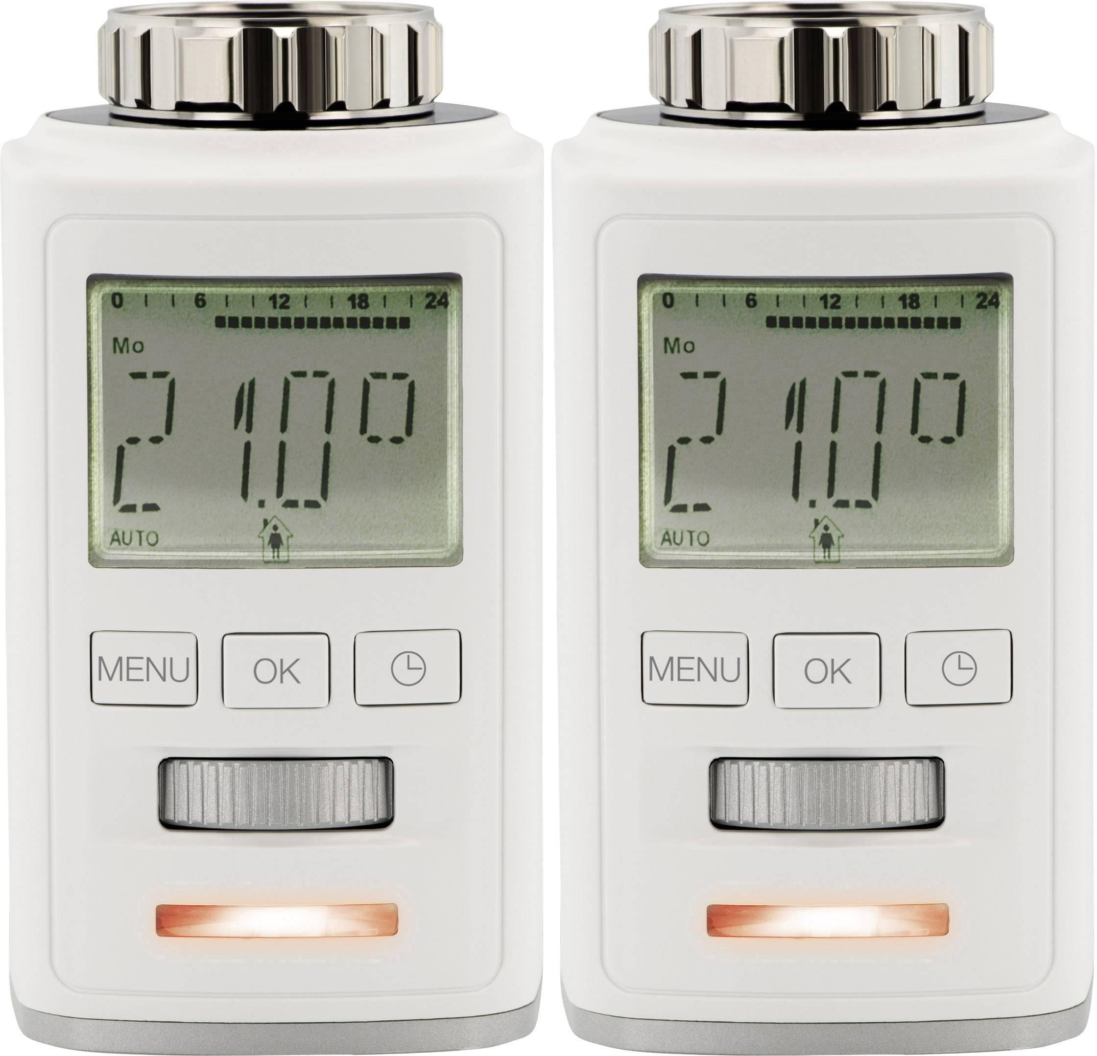 Radiátorová termostatická hlavica Sygonix HT100 700100416, 8 do 28 °C, sada 2 ks