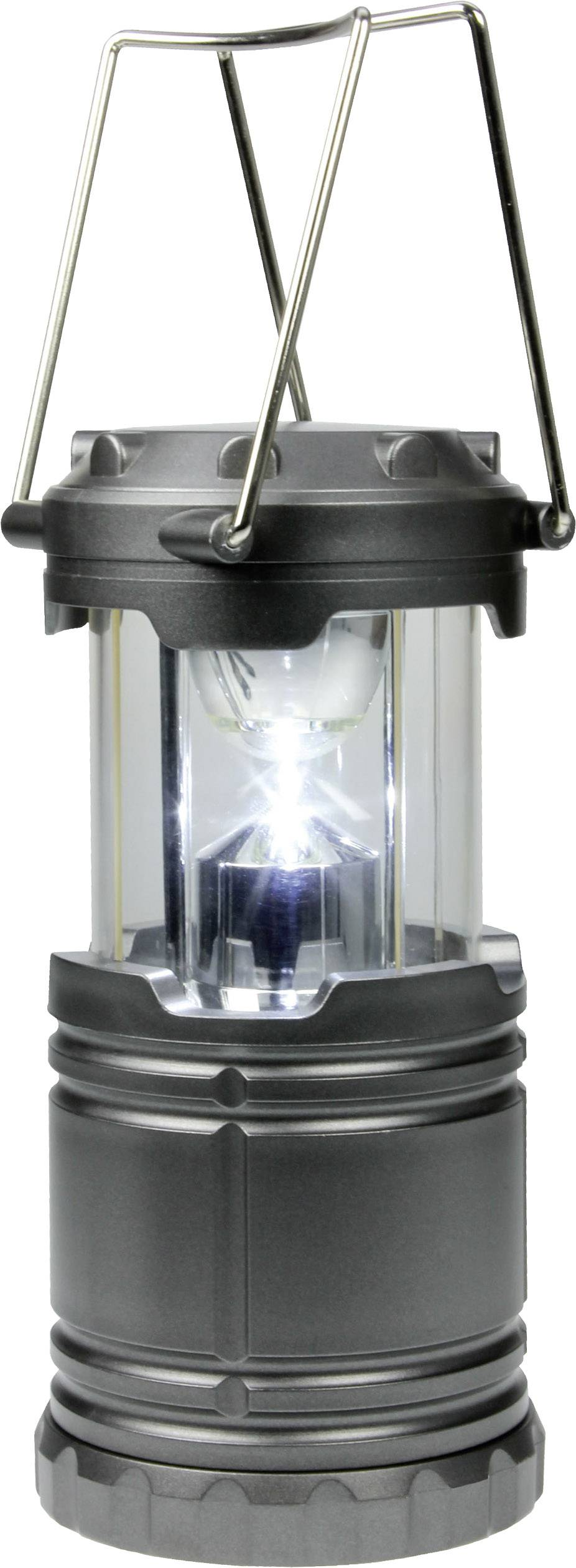 LED kempingová lucerna Dörr Foto CL-1285 980378, 259 g, tmavě modrá