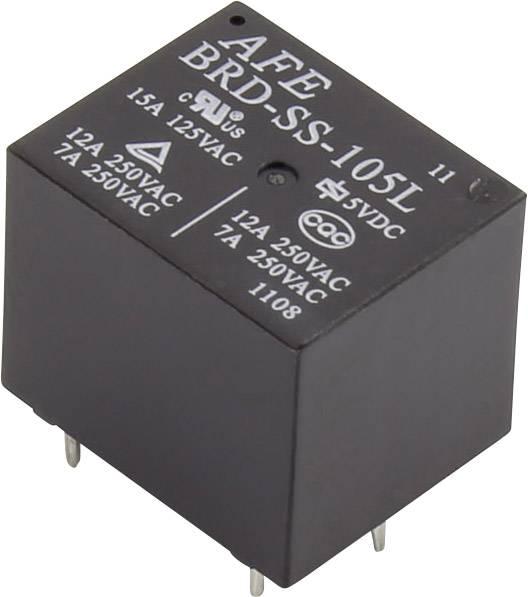 Relé do DPS AFE BRD-SS-105L 15 A 5 V/DC 1 přepínací kontakt