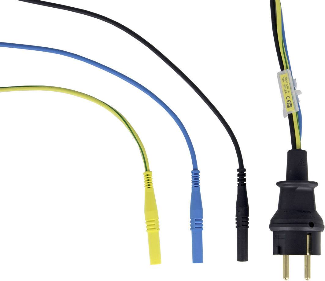 Jednofázový merací adaptér Gossen Metrawatt PRO-SCHUKO Z503K