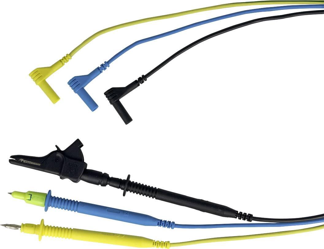Měřicí kabely Gossen Metrawatt Z503L s krokosvorkami 1000 V CAT III pro PROFITEST INTRO