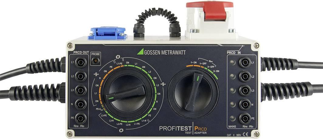 Testovací adaptér Gossen Metrawatt PROFITEST PRCD M512R