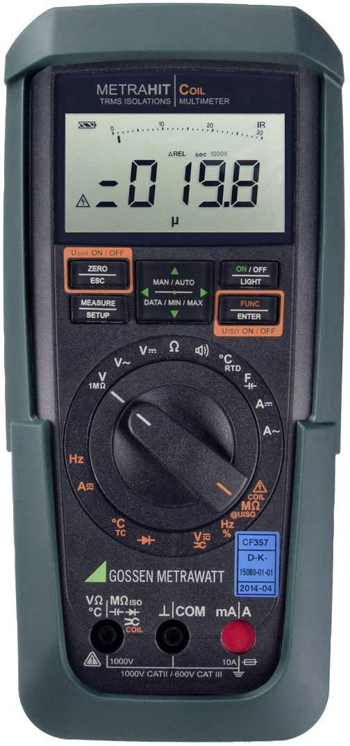 Digitální multimetr Gossen Metrawatt METRAHIT COIL, Kalibrováno dle DAkkS