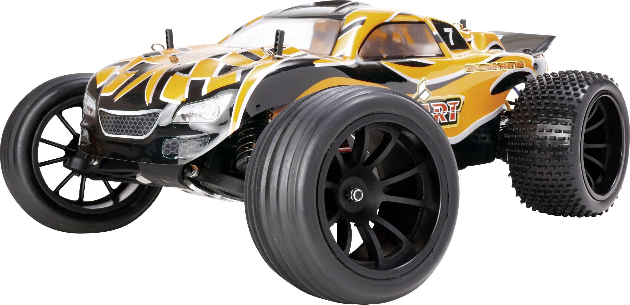 RC model auta truggy Reely Dart, komutátorový, 1:10, zadný 2WD (4x2), 100% RTR, 25 km/h