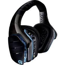Logitech Gaming G933 Artemis Spectrum herní headset bez kabelu přes uši, s USB, jack 3,5 mm, černá