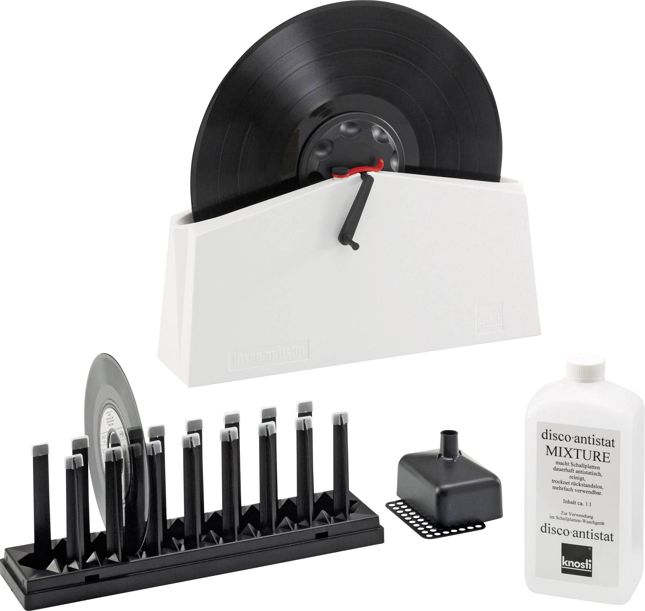 Čistič vinylových desek, sada Knosti Disco-Antistat 2 1350001