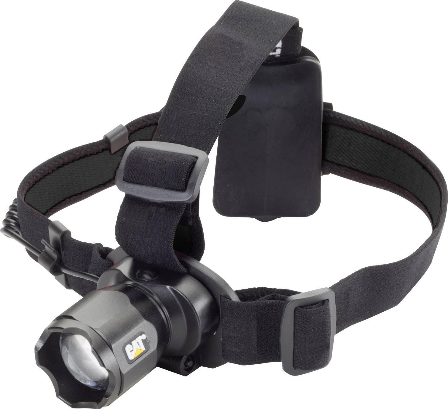 Pracovná LED čelovka CAT Focusing Headlamp CT4200, na batérie, 250 g, čierna