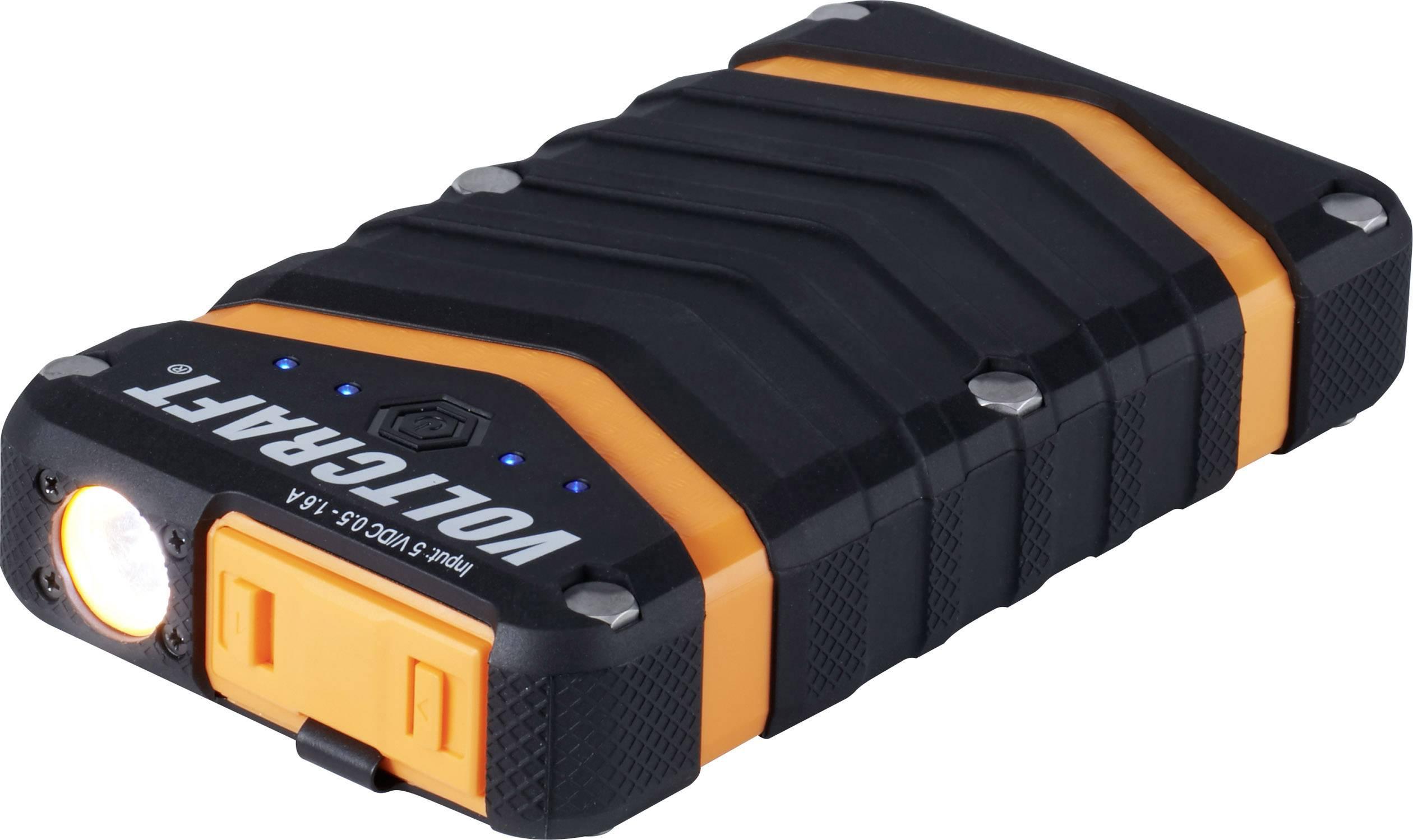 Powerbanka VOLTCRAFT PB-20 Outdoor, Li-Ion akumulátor 18000 mAh, čierna / oranžová