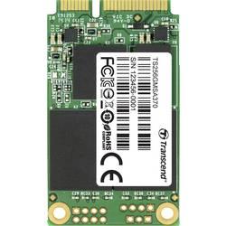 Interní mSATA SSD pevný disk 256 GB Transcend 370 Retail TS256GMSA370 mSATA