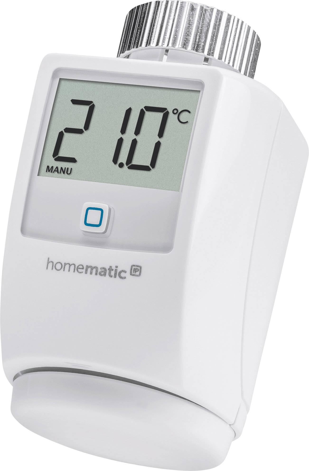 Bezdrôtoví termostatatická hlavica na radiátor Homematic IP HMIP-eTRV-2 Max. dosah 150 m
