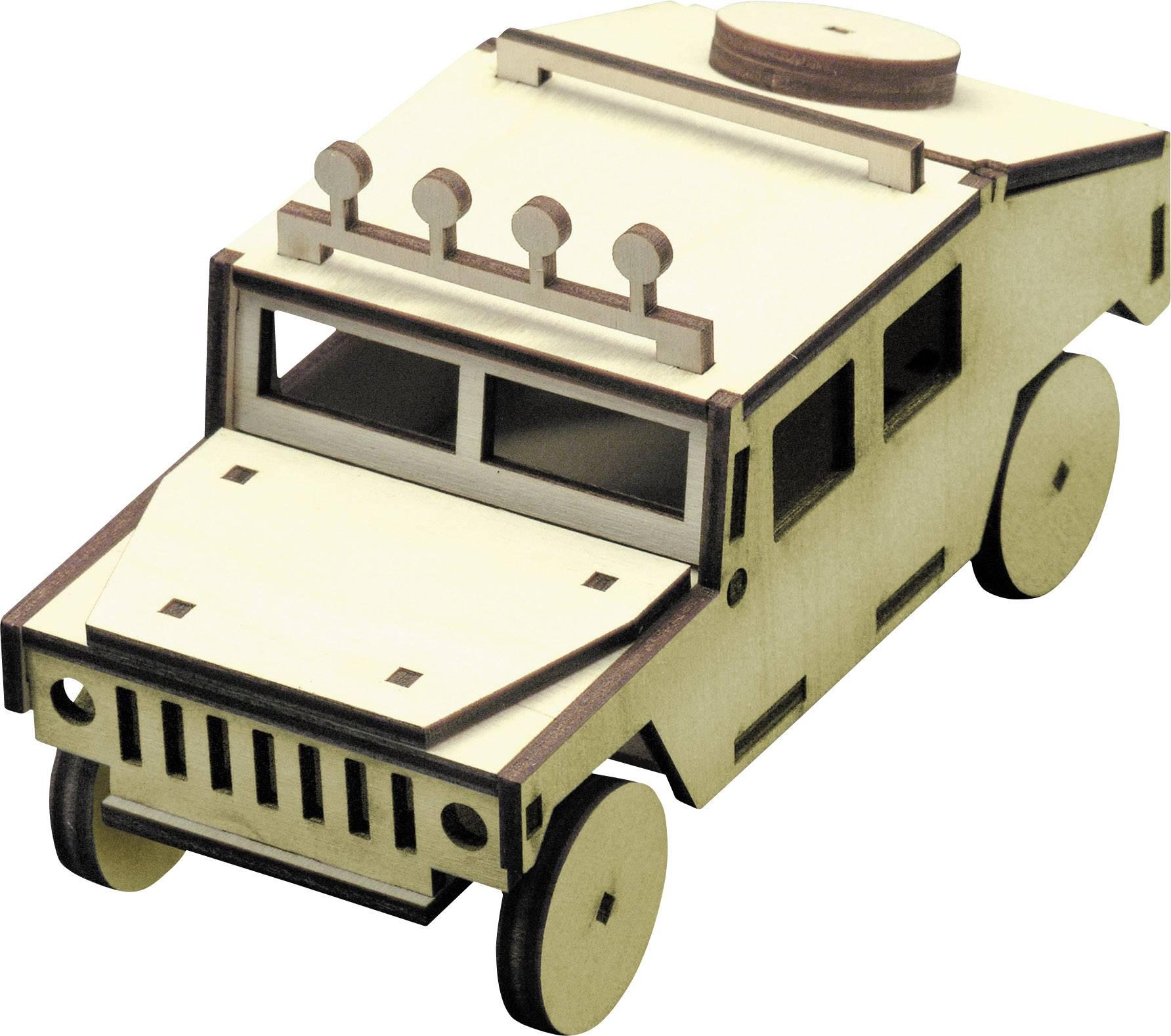 Drevená stavebnica auta hummer Sol Expert 39500