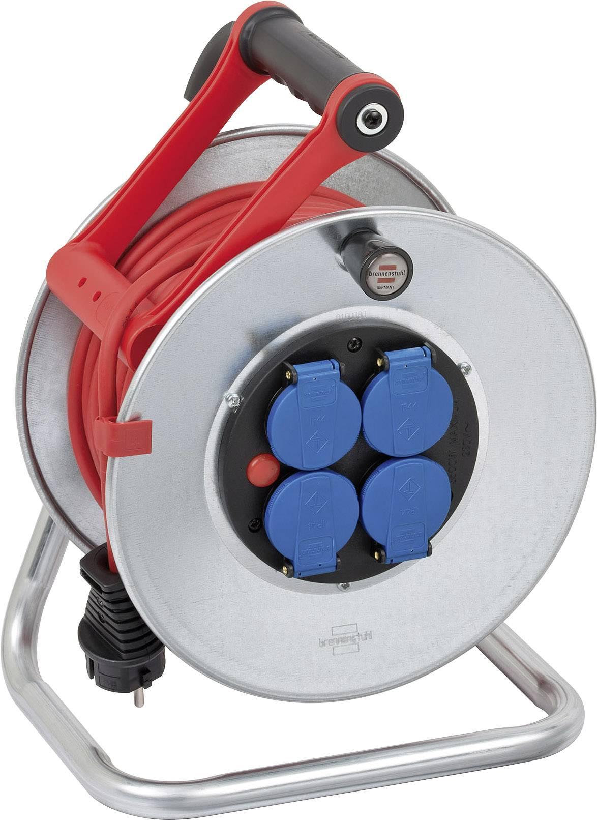 Kabelový buben Brennenstuhl 1199854, Super-Solid, 25 m, 4x zásuvka , CZ