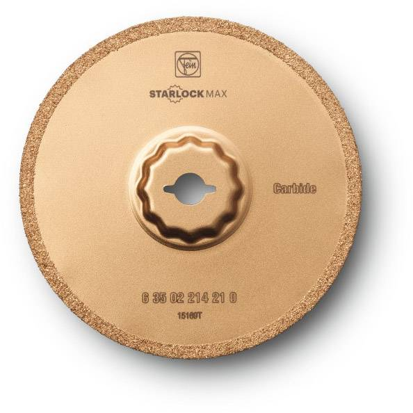 Tvrdokov list kotoučové pily 1.2 mm 105 mm Fein 63502214210 Vhodné pro značku (multifunkční nářadí) Fein, Bosch SuperCut 1 ks