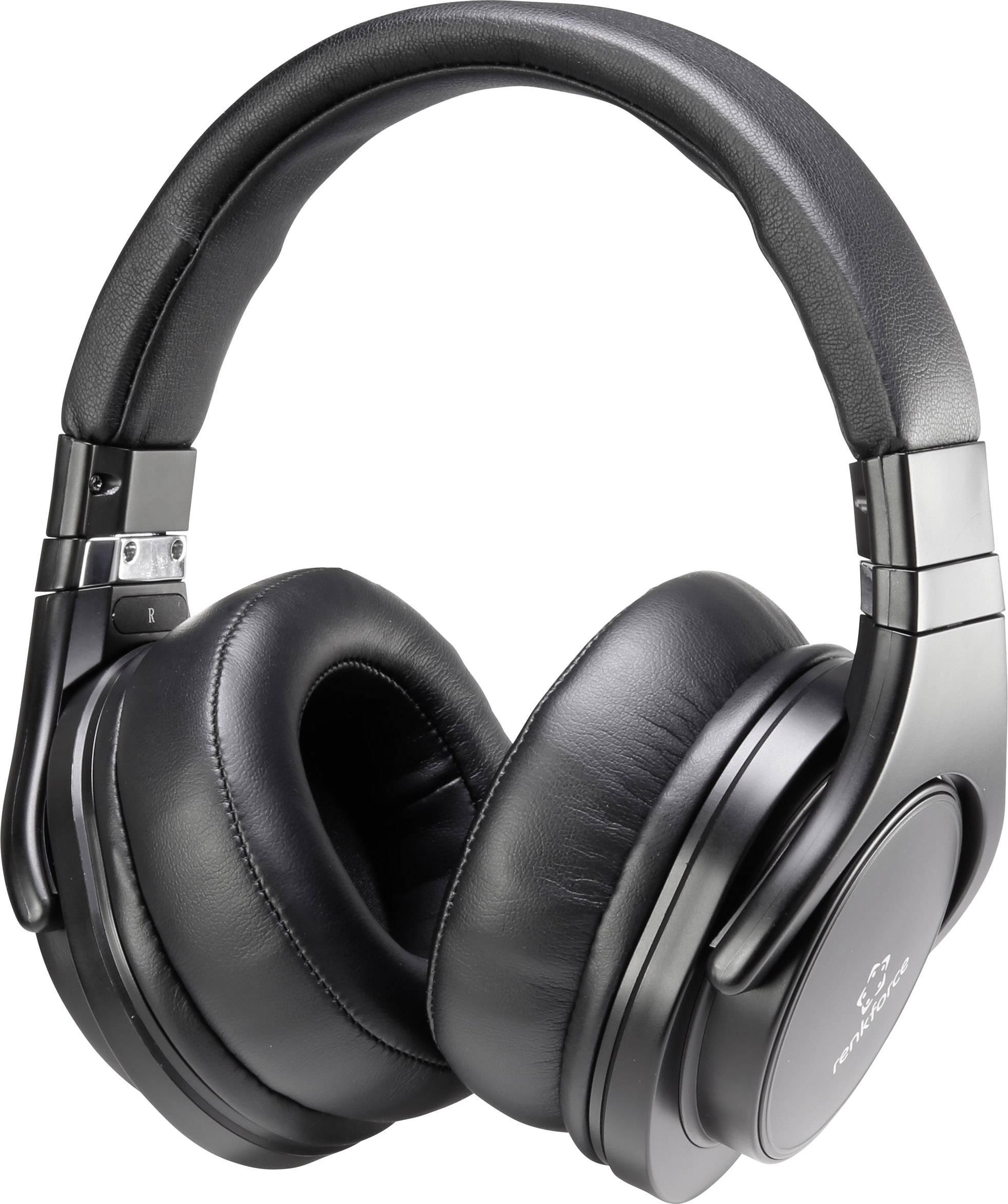 Slúchadlá Renkforce HP-P266 RF-4223757, čierna