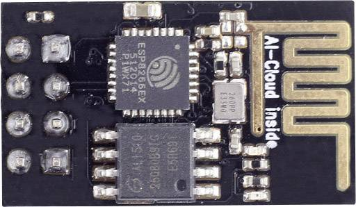 Vývojová doska Seeed Studio WiFi Serial Transceiver Module w/ ESP8266 - 1MB Flash
