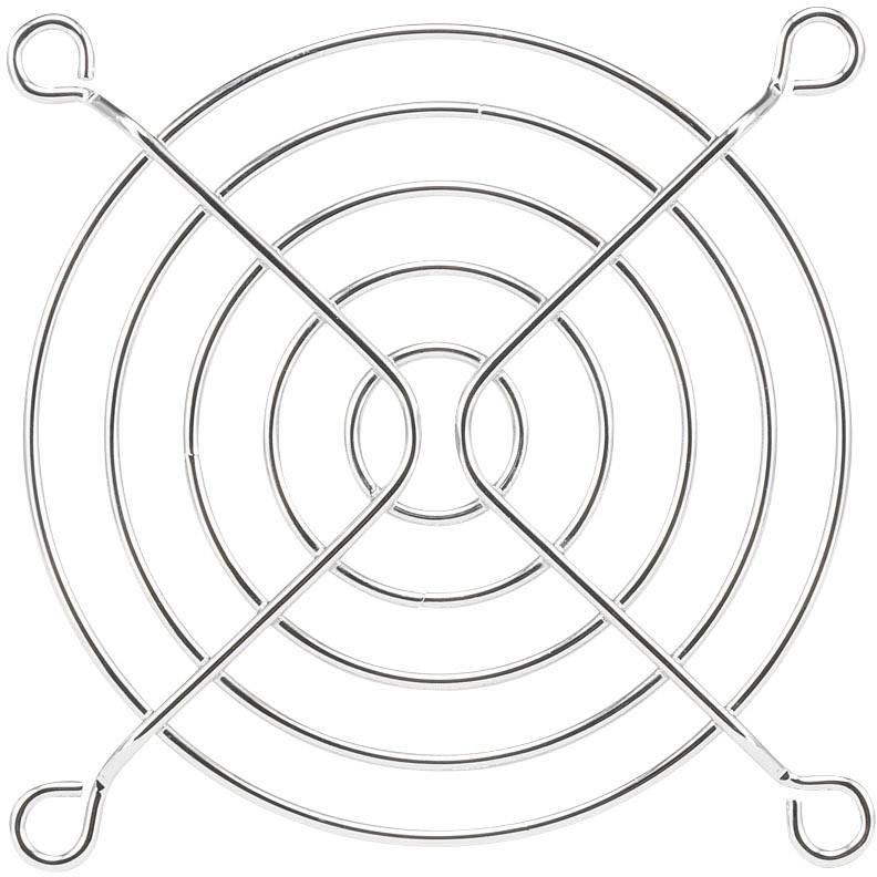 Větrací mřížka PROFAN Technology 1408555, (š x v) 80 mm x 80 mm, kov, 1 ks