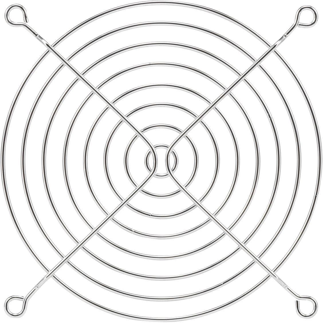 Větrací mřížka PROFAN Technology 1408557, (š x v) 120 mm x 120 mm, kov, 1 ks
