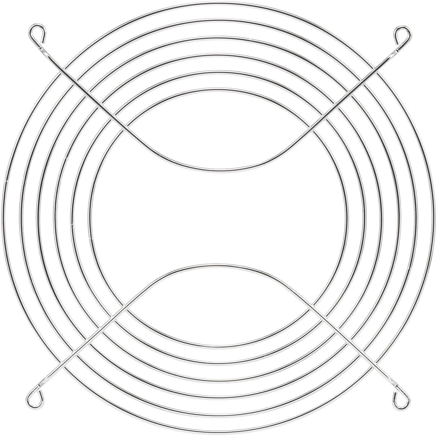 Větrací mřížka PROFAN Technology 1408559, (š x v) 200 mm x 200 mm, kov, 1 ks