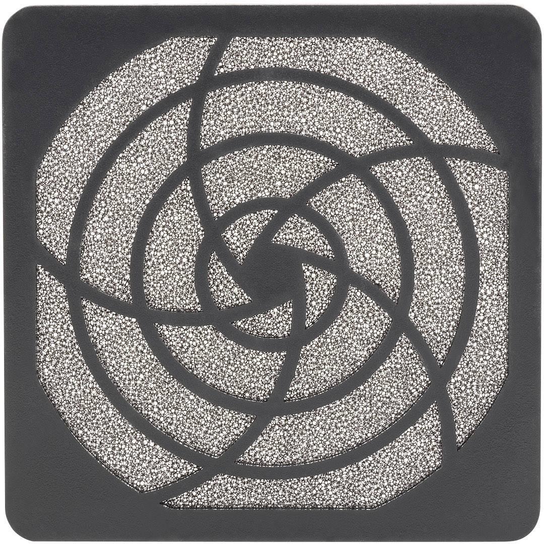 Vetracia mriežka s filtračnou vložkou PROFAN Technology 1408561, (š x v x h) 96.5 x 96.5 x 9.9 mm, umelá hmota, 1 ks
