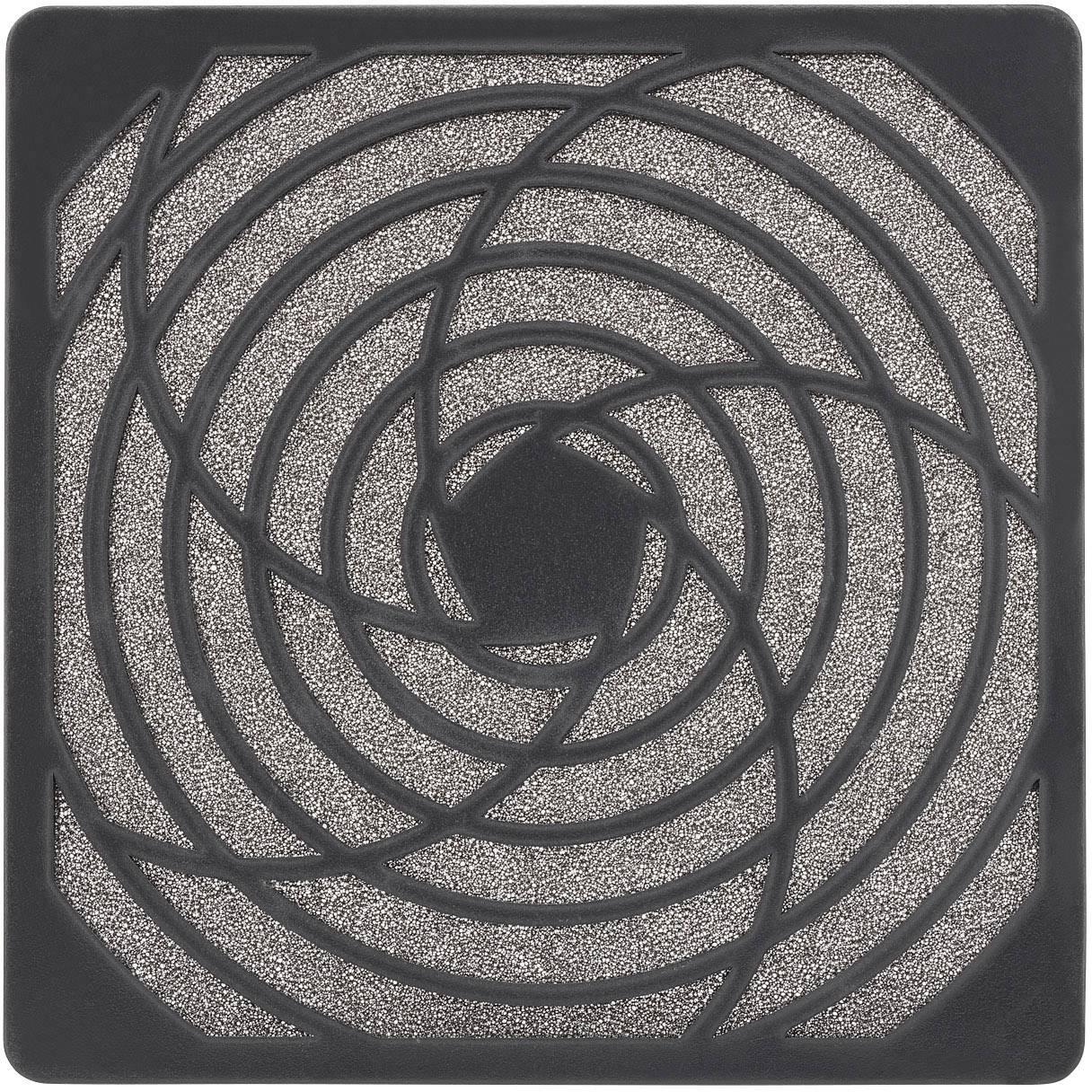 Vetracia mriežka s filtračnou vložkou PROFAN Technology;1408562, (š x v x h) 125 x 125 x 10.1 mm, 1 ks, umelá hmota