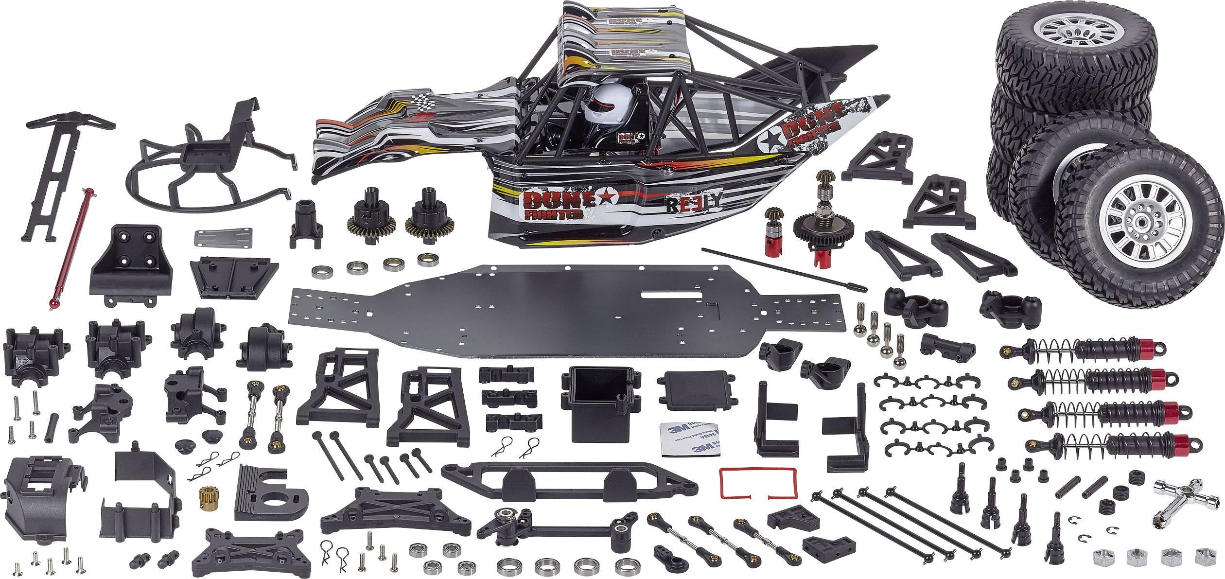 RC model auta Reely Dune Fighter 1:10 elektrický Buggy 4WD (4x4) stavebnice