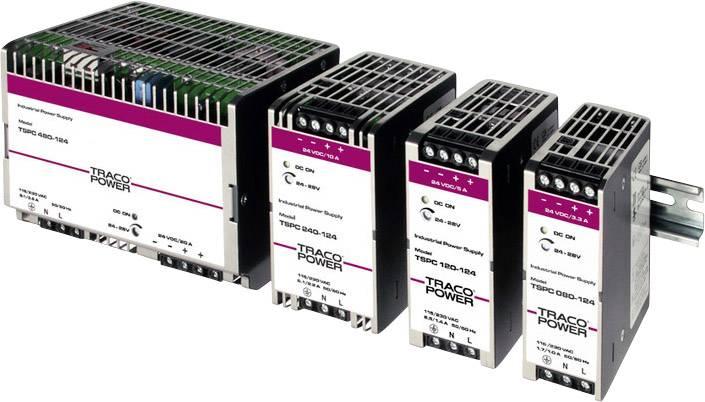 Síťový zdroj na DIN lištu TracoPower TSPC 240-148, 1 x, 5.0 A, 240 W