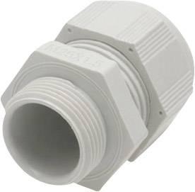 Kabelová průchodka Helukabel HT 93908, polyamid, délka závitu 6 mm, světle šedá (RAL 7035), 1 ks