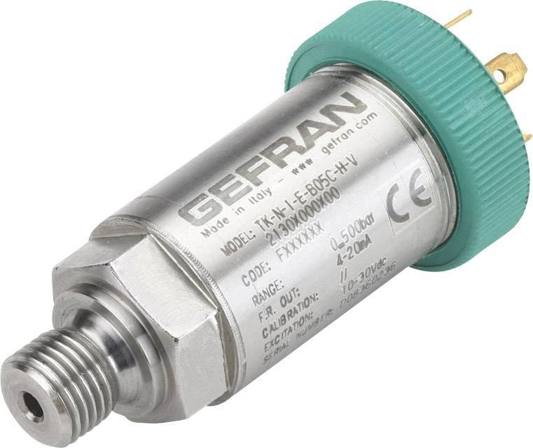Senzor tlaku Gefran TK-E-1-Z-B04D-M-V, 0 bar do 40 bar