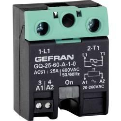 Polovodičové relé Gefran GQ-25-60-D-1-3 GQ-25-60-D-1-3, 25 A, 1 ks