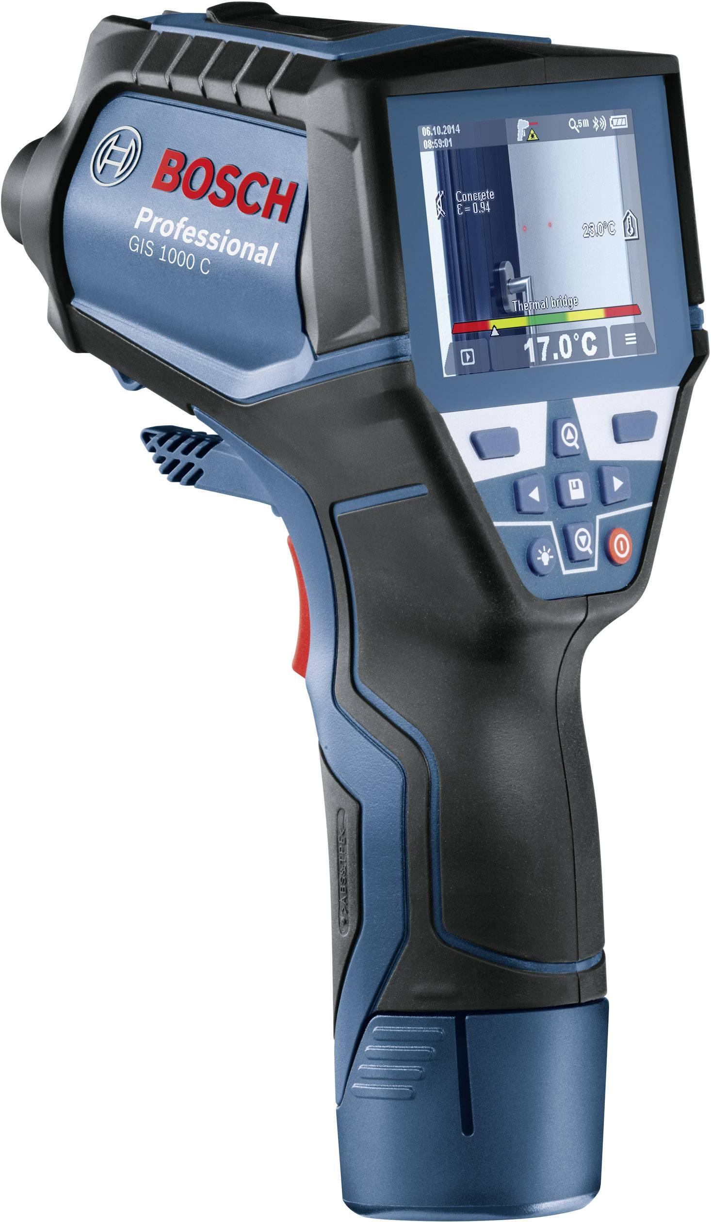 Infračervený teplomer Bosch Professional GIS 1000 C Professional, Optika 50:1, -40 do +1000 °C