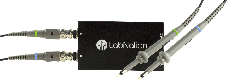 USB, PC osciloskop LabNation Smartscope, 30 MHz, 10-kanálový
