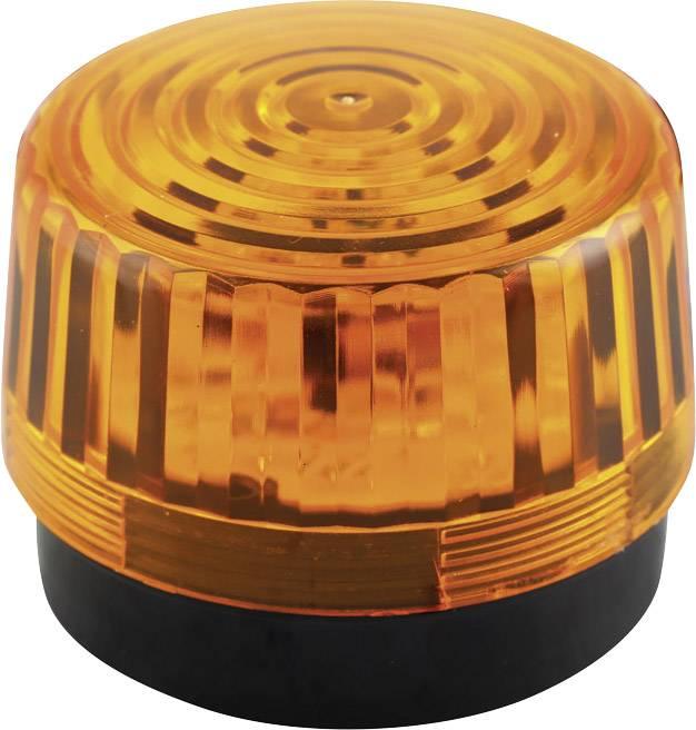 Signální osvětlení LED Velleman HAA100AN, oranžová, zábleskové světlo, 12 V/DC