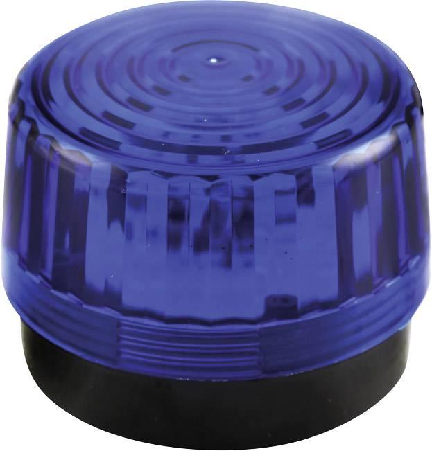 Signální osvětlení LED Velleman HAA100BN, modrá, zábleskové světlo, 12 V/DC