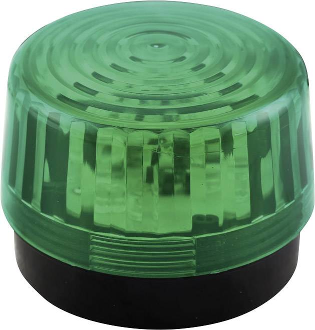 Signální osvětlení LED Velleman HAA100GN, zelená, zábleskové světlo, 12 V/DC