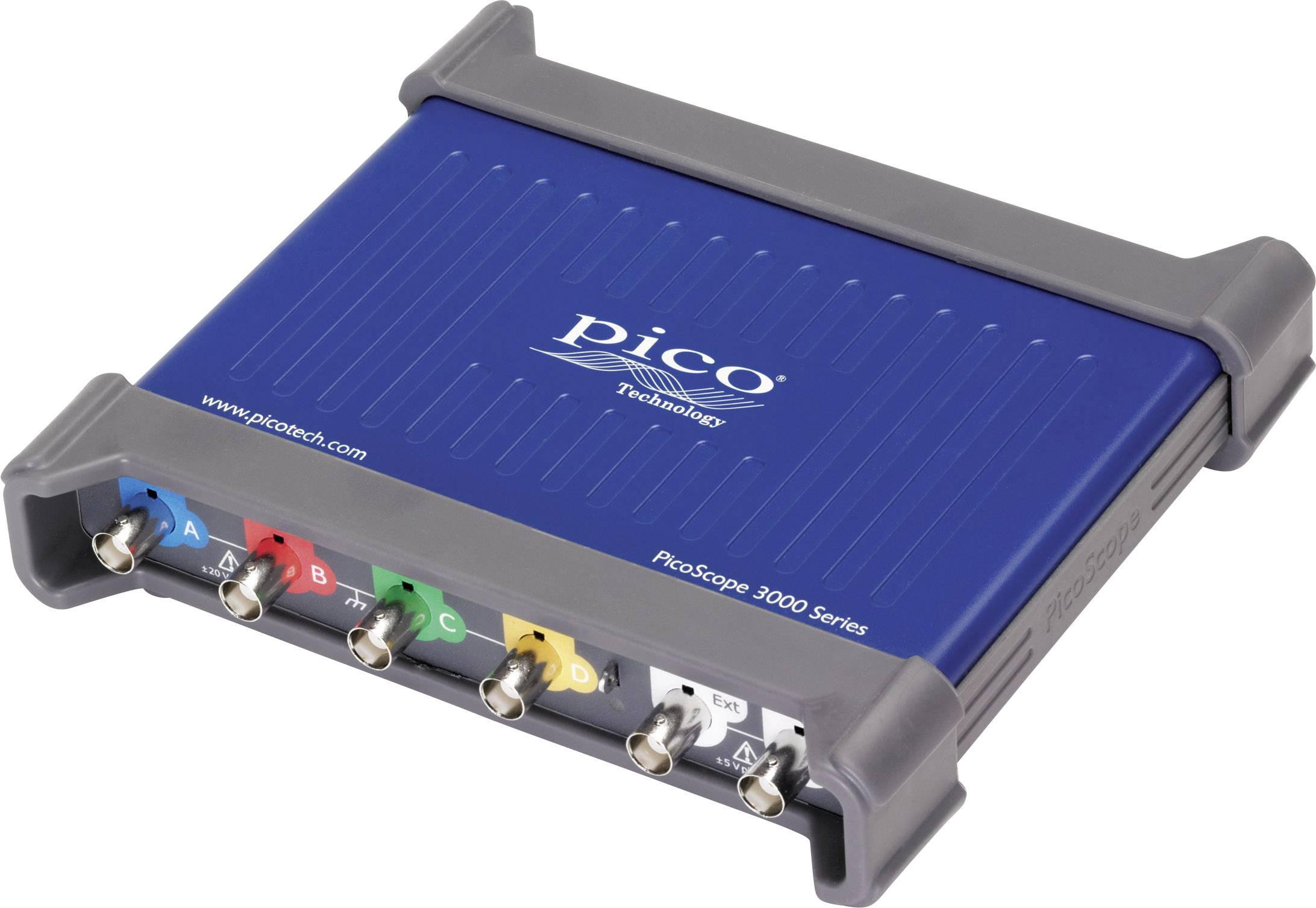 USB osciloskop pico 3403D, 50 MHz, 4kanálová