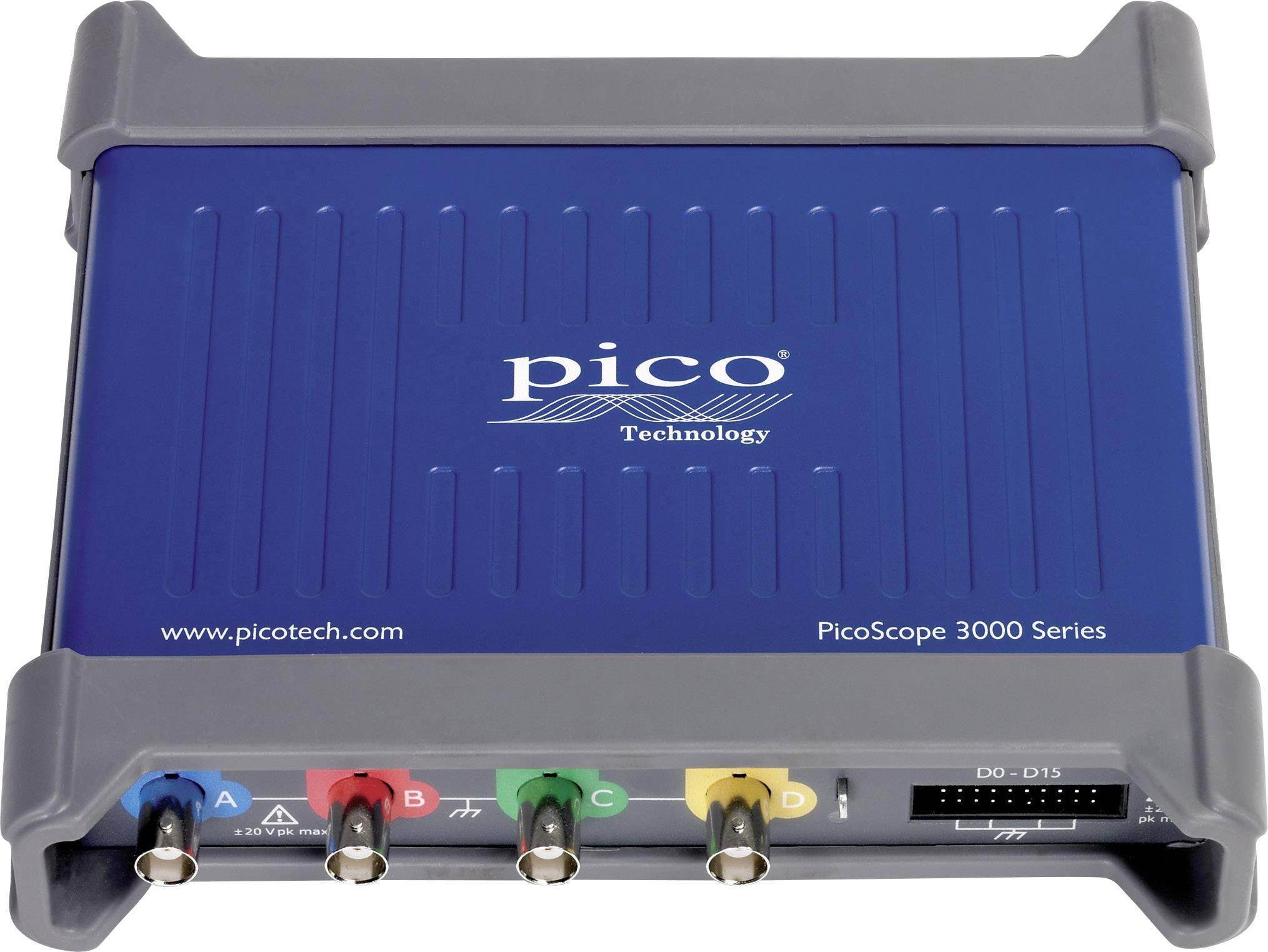 USB osciloskop pico 3406D MSO, 200 MHz, 20kanálový